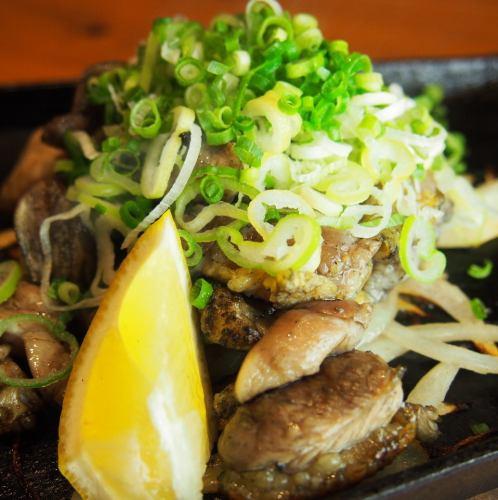 知覧地鶏の炭火焼き