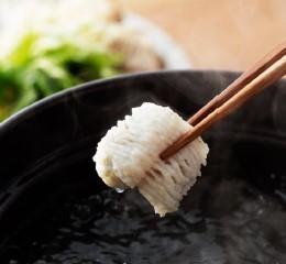 Eel soup shabu-shabu (1 serving)