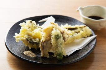 Eel's tempura