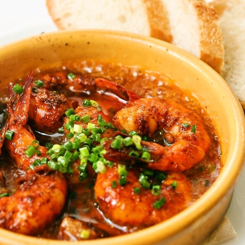 Shrimp ahillo