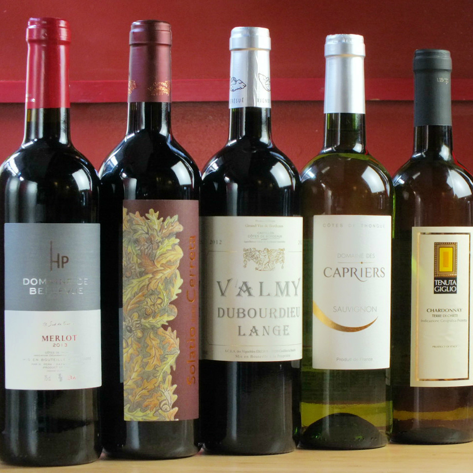 We also have plenty of natural wines.