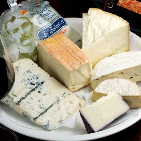 Three kinds of cheese flour