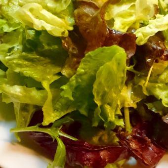 葉っぱサラダ