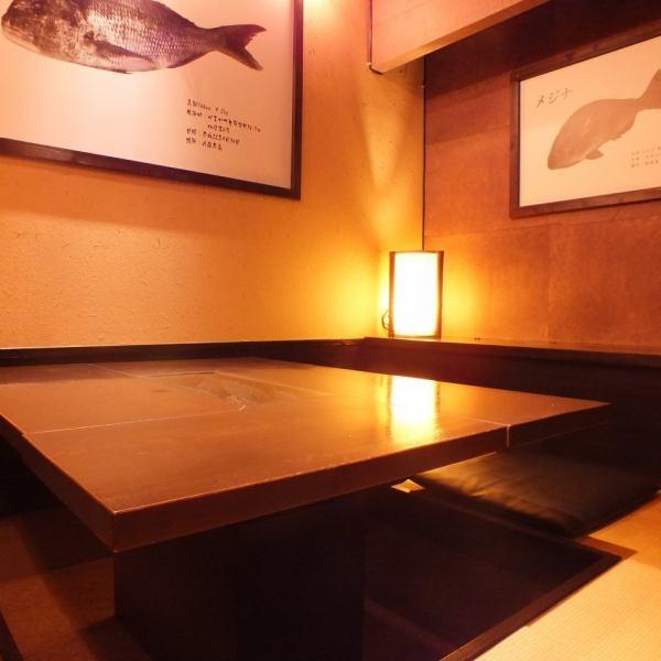 秘密の隠れ家!?店内奥にある一部屋。接待や大人のデート利用にも使えます!