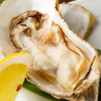 厚岸産牡蠣焼き