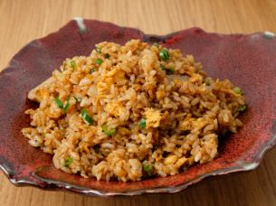 Black fried rice