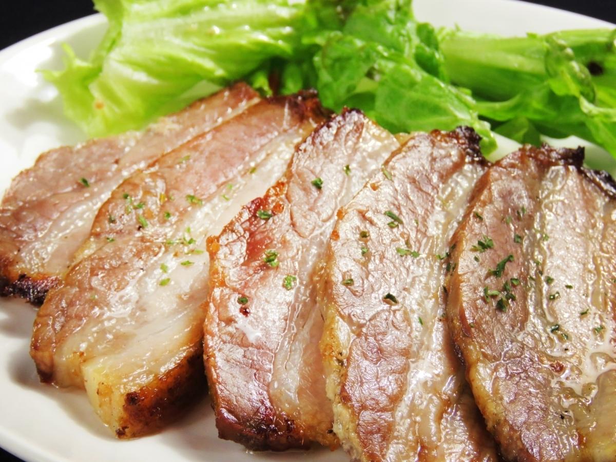 구운 돼지 고기