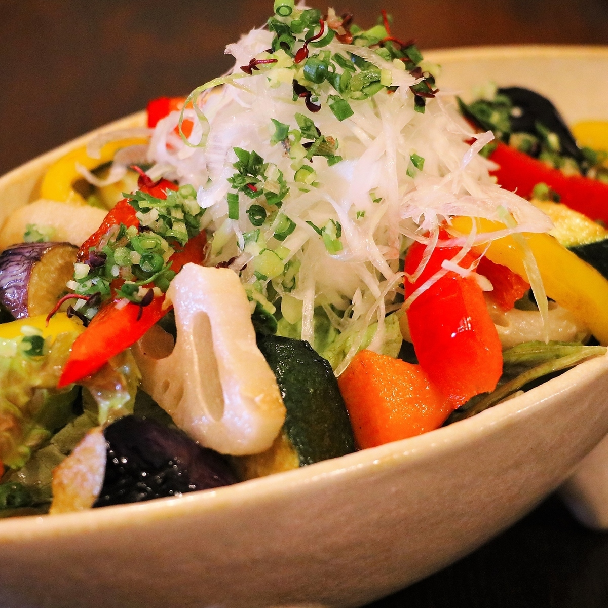 【オススメ】十五品目の野菜サラダ