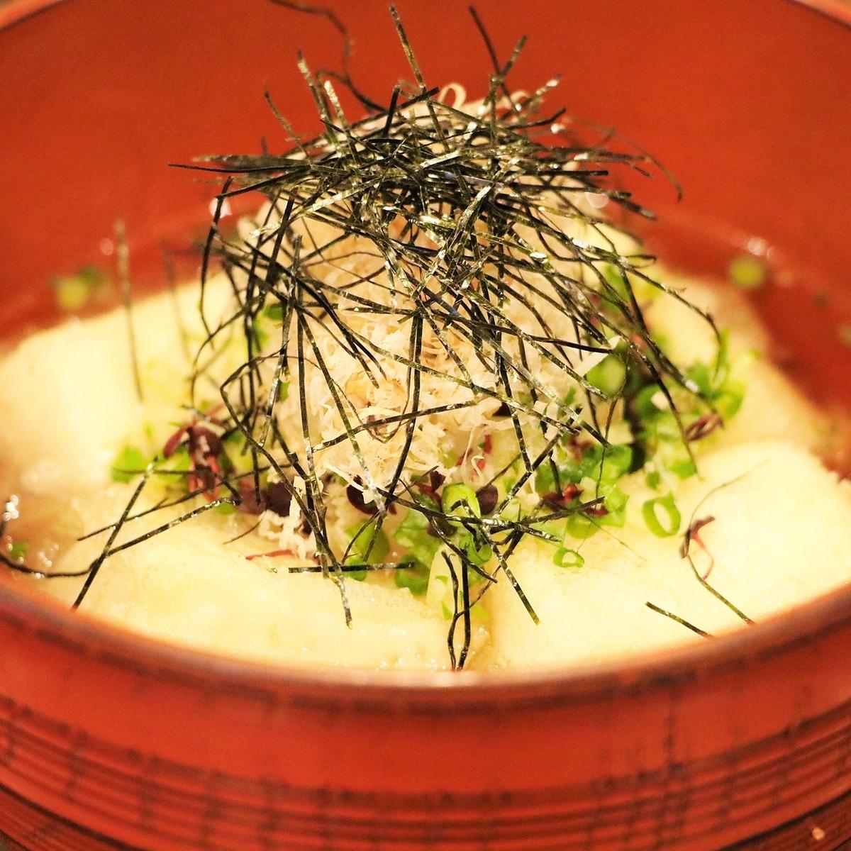 【オススメ】揚げ出し豆腐