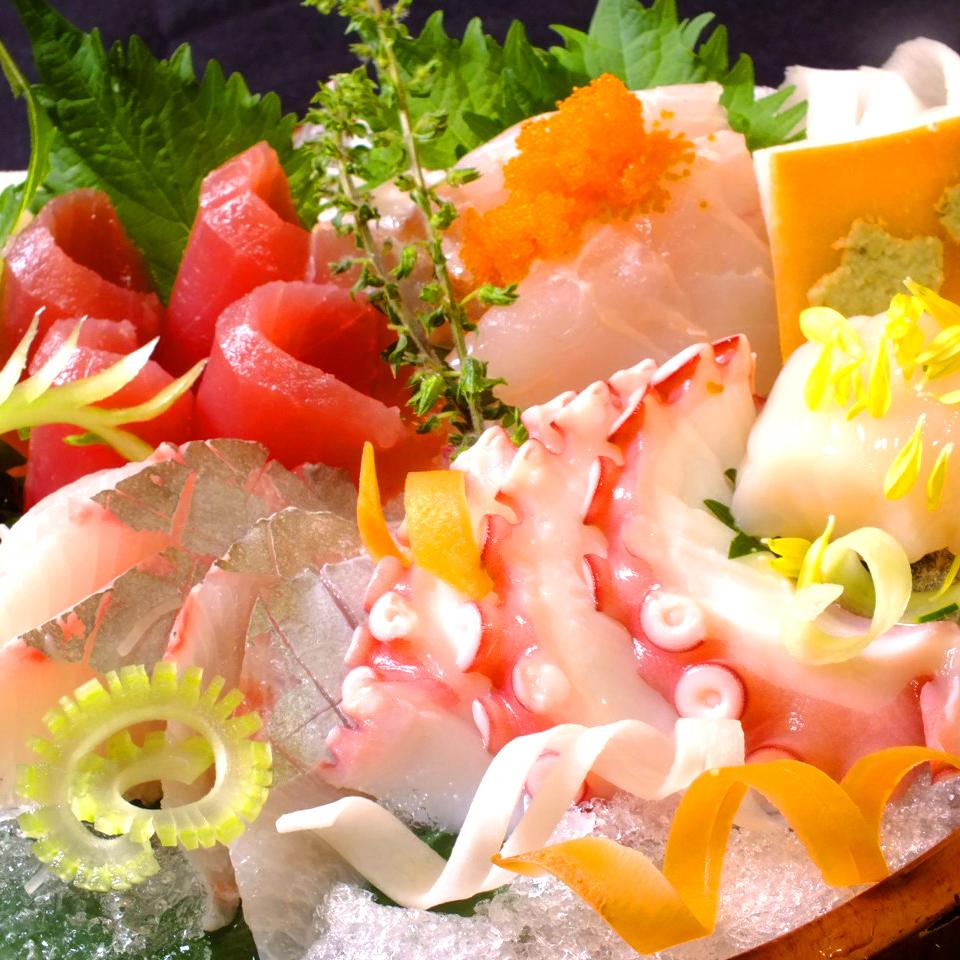 해물 주점 특유의 맛