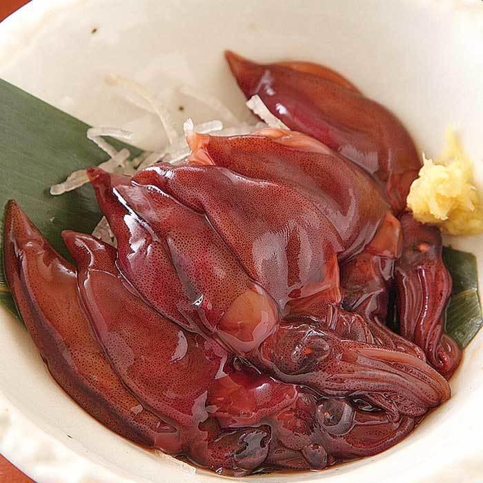 腌制的萤火虫鱿鱼