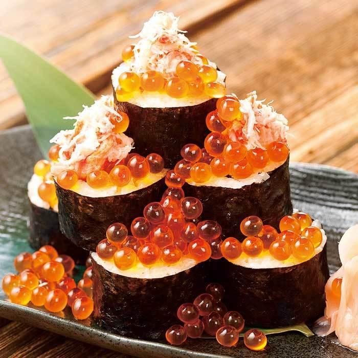 螃蟹卷寿司多少螃蟹