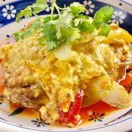 【Phu Papong Curry】 ~ Stir-fried crab with egg curry