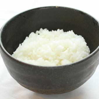 "White rice ""Ordinary or large sushi"""