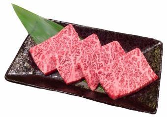 日本牛肉罕見的部位不同