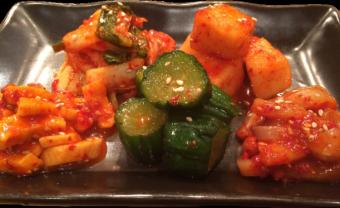 Assorted Kimchi 5 varieties