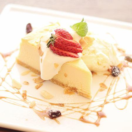べリー×ベリーチーズケーキ