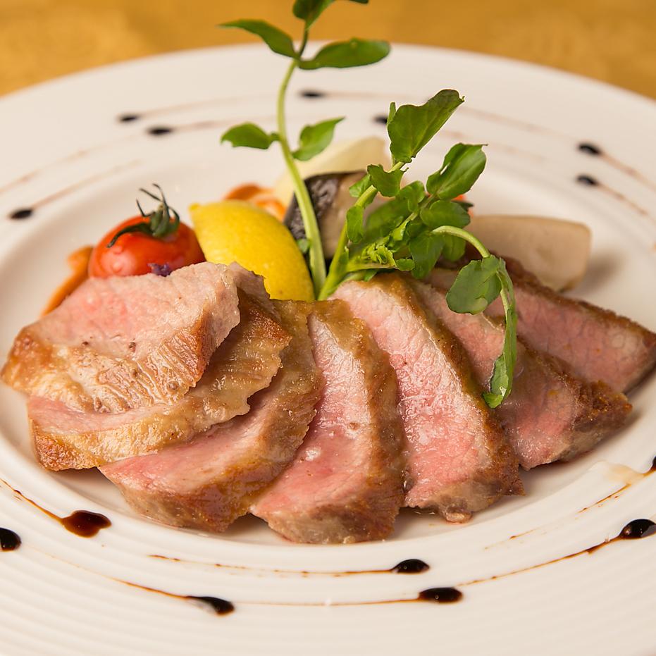 イベリコ豚セクレトの鉄板焼き