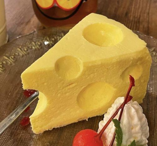 まるでチ~ズなチーズケーキ
