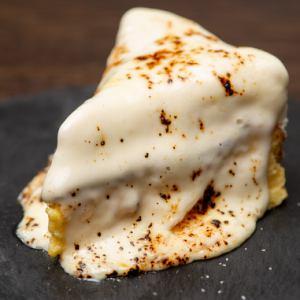 炙りレアチーズケーキ