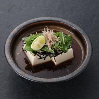 用志高和水Commit承諾做豆腐