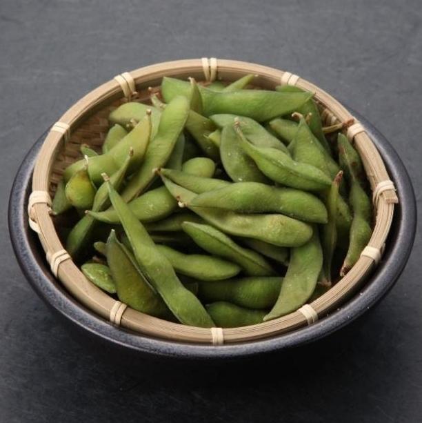 ふっくら甘い塩茹で枝豆