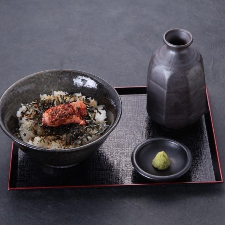 お茶漬け(梅・銀鱈・明太子)