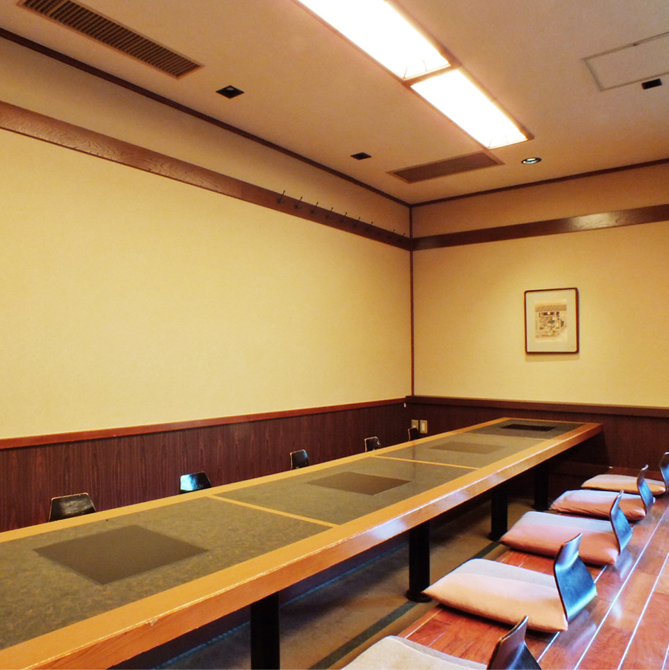 It is a preeminent private room with a sense of omission.(About 16 people)