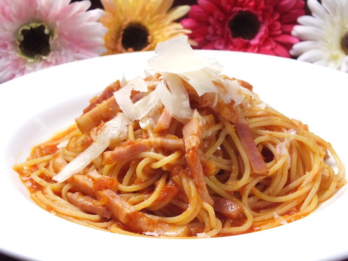 スパゲティ アマトリチャーナ