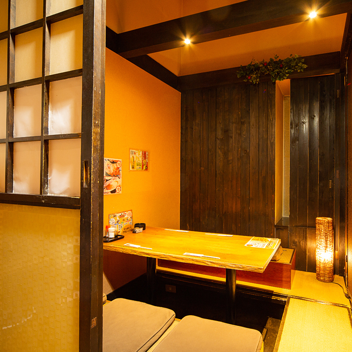 Fully private room 6 people digging and tatami mat