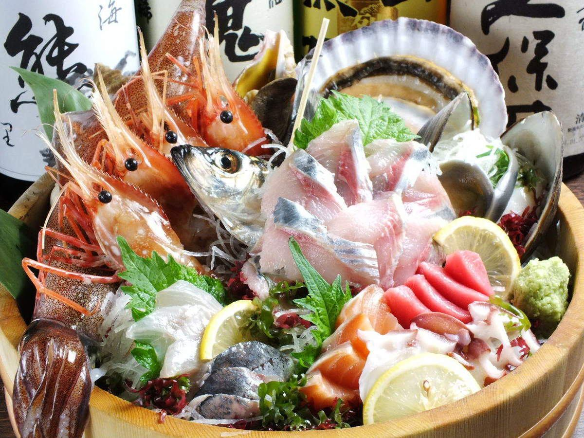 Seasonal delicious items such as seafood and vegetables are on-line! Even single items or courses ◎