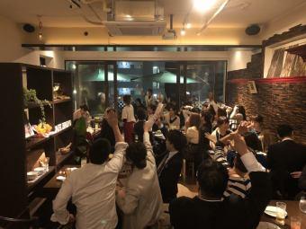 【貸切!】最大60名様まで☆歓迎会、送別会や貸切パーティーに♪ビュッフェstyleで→5000円☆