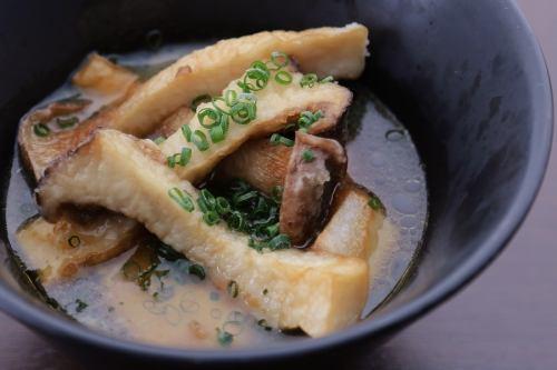 里芋とエリンギ醤油バター