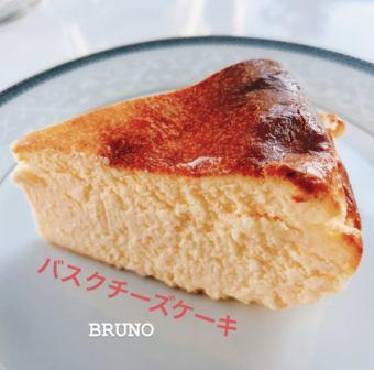 とろけるバスクチーズケーキ