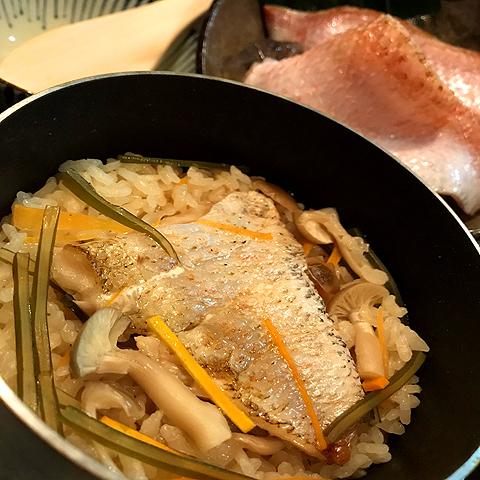 【飯 飯】 Throat black fish tempered 1 cooked