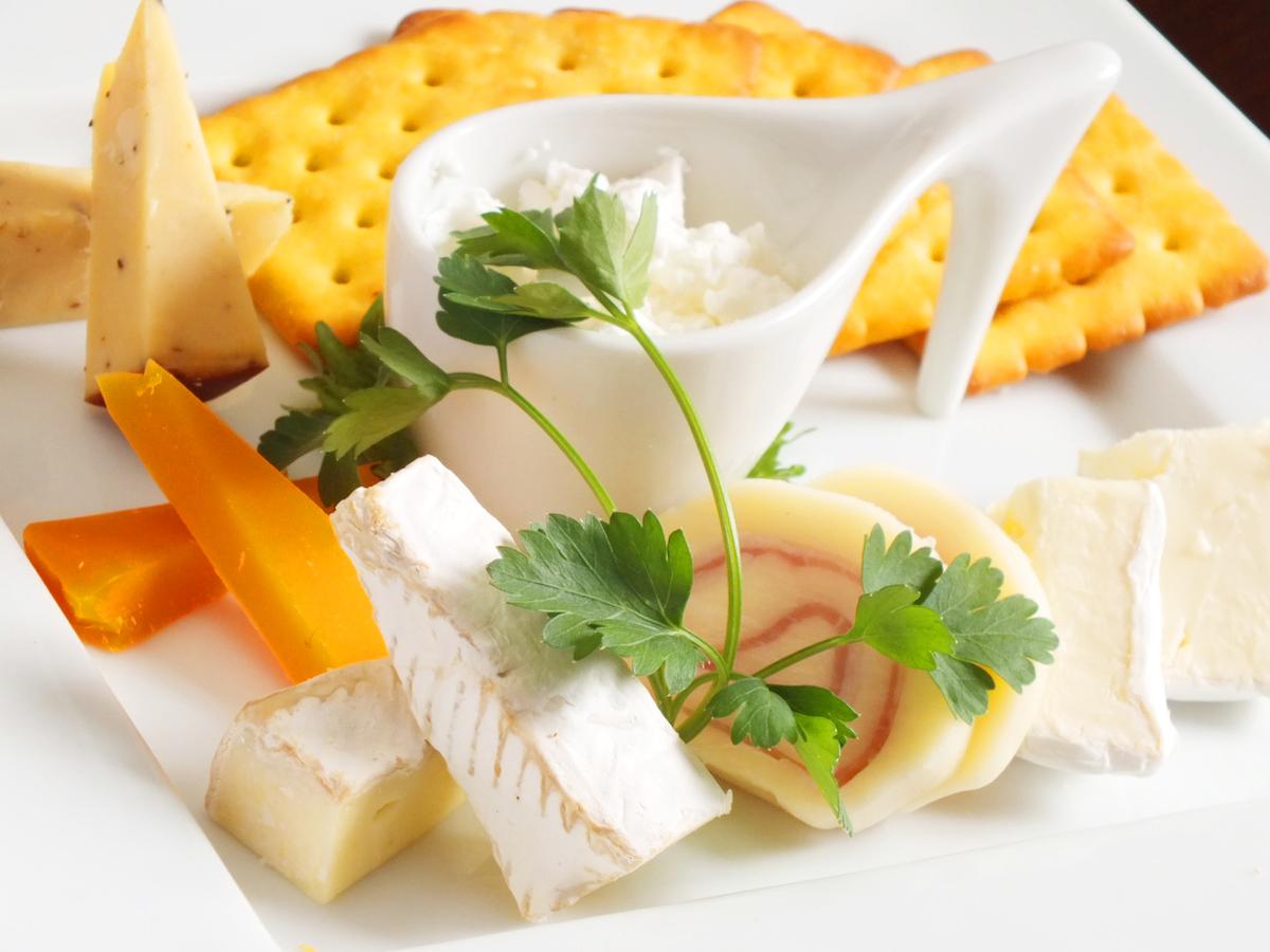 シェフのチーズバリエーション