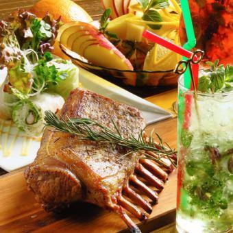 Ramlack等正宗食品10項★【2.5H飲料所有你可以喝高級套餐5000日元】