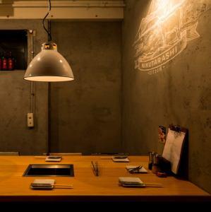 2名~6名様までのテーブル席が4卓ございます。
