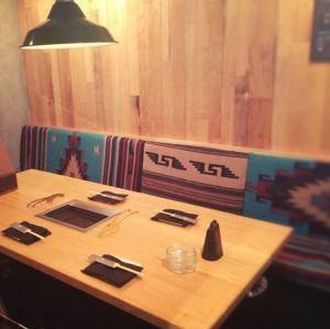 個室です。(片側のみソファー制となっております。