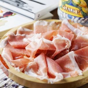 Parma aged 12 months non-press ham