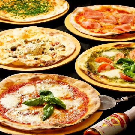 [Wedding second party plans] Private rooms and banquets OK! All-you-can-eat casadol pizza All you can drink 3 hours with unlimited drinks 4000 yen