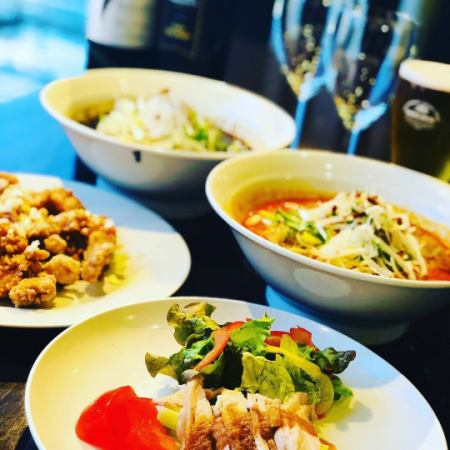 Cheap !! 【NEW】 Chobo Imaizumi Super Light Plan ★★ 3 dishes + 3H with unlimited drinks 1980 yen