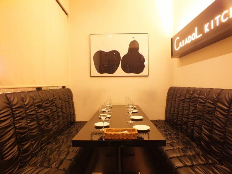 OK的私人房间到2〜8个人♪妇女协会,受欢迎的约会席☆可以在柔软的沙发上放松☆彡