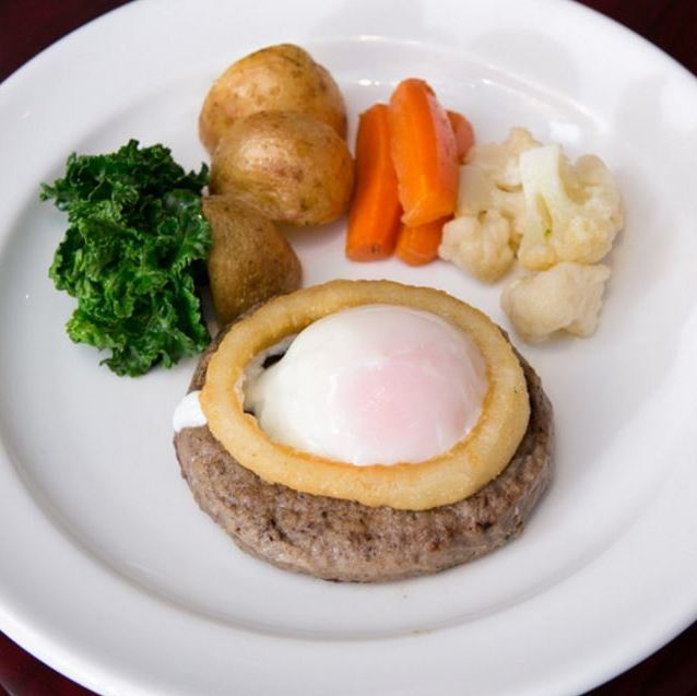 NAKANAKA special hamburger steak - garlic soy sauce at lehour source -
