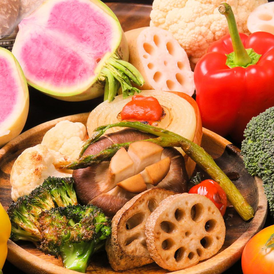 各种蔬菜烧烤