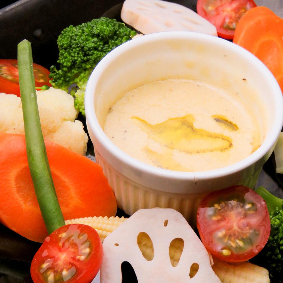 时令蔬菜Bagna cauda