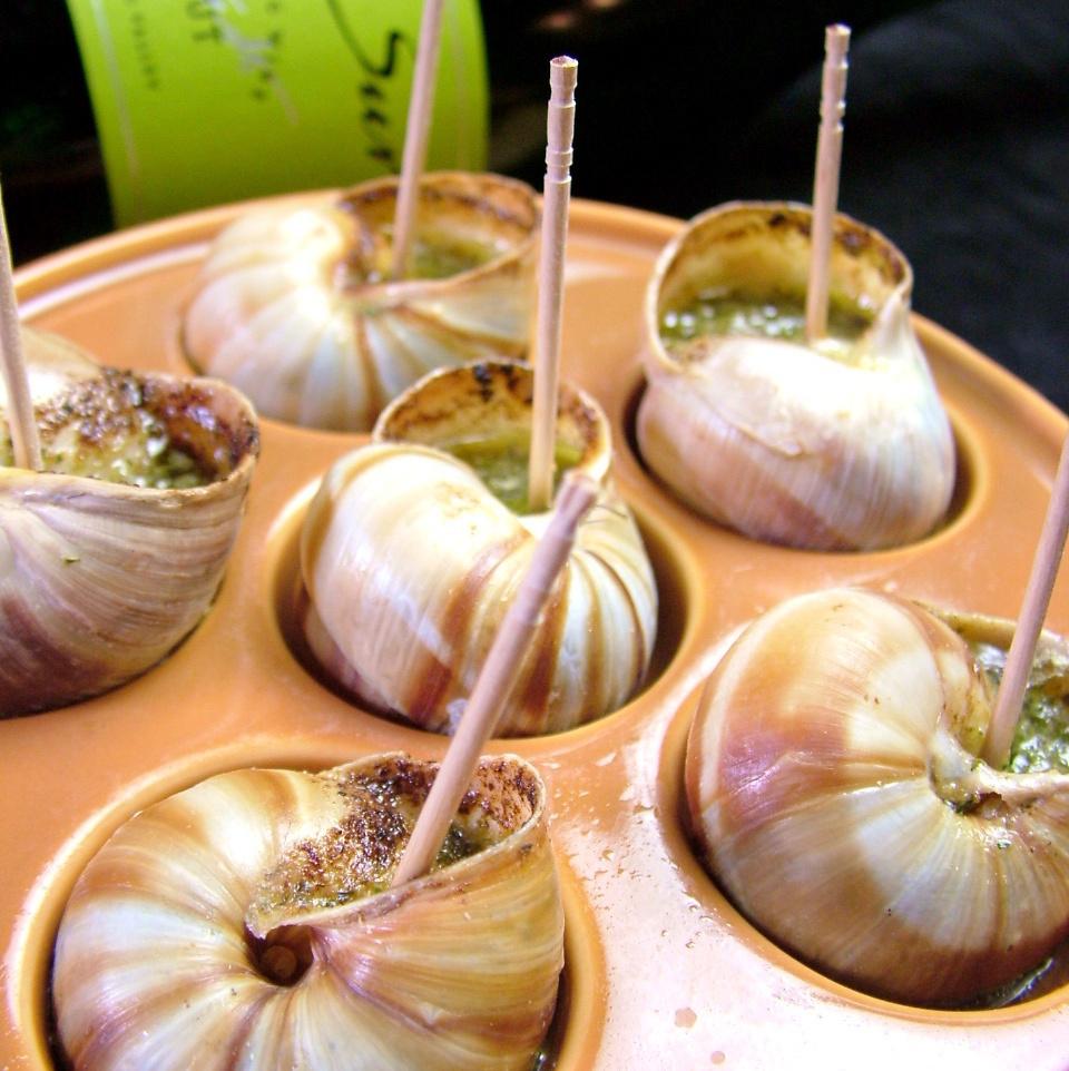 Escargot的Burginion黄油