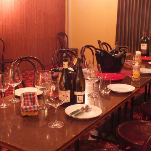 ビストロPartyコース120分[飲放]付き和牛の赤ワイン煮込みなど全7品5500円⇒5000円