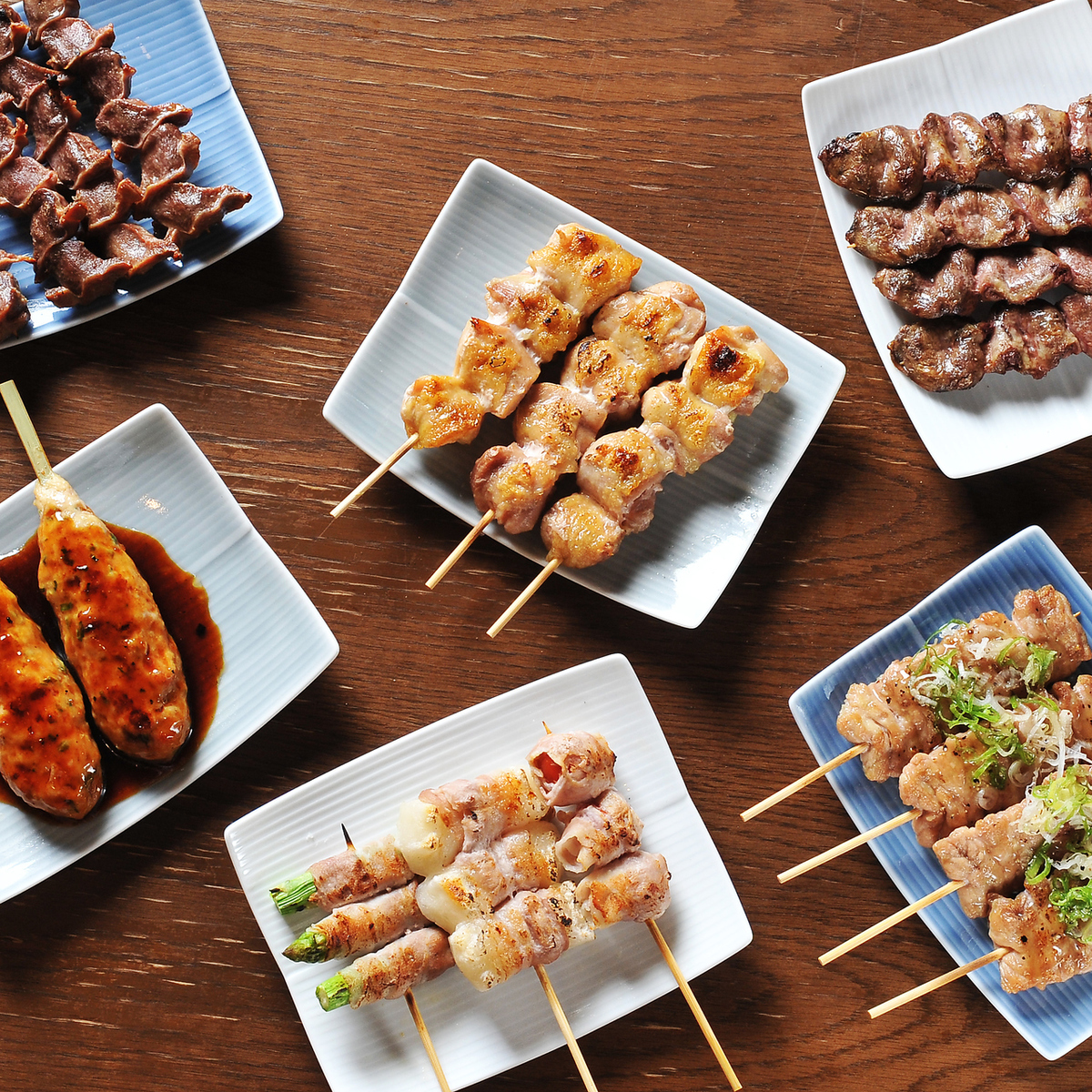 """""""Yakitori"""" delicious because it is char-grilled"""