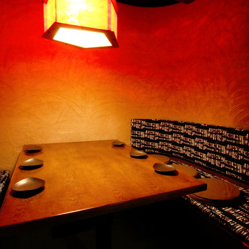 放松的半私人房间/ 4至8人
